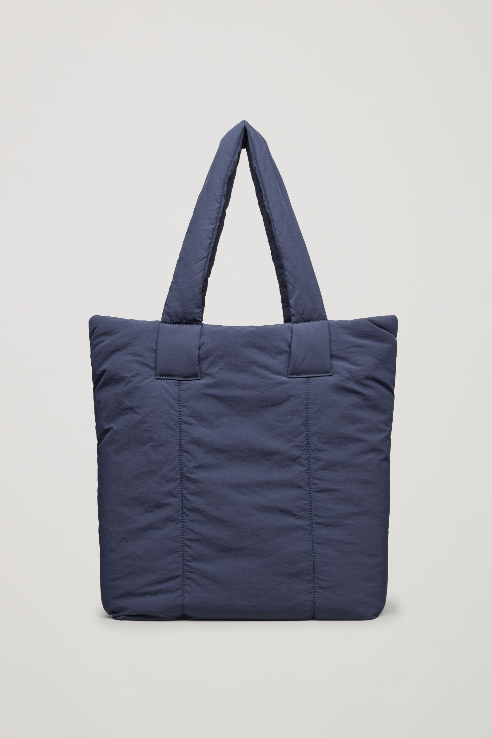 """""""COS""""PADDED TOTE BAG NAVY"""
