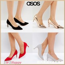 ★ASOS★人気パンプス☆SOULFUL Wide Fit Mid Heels 全4色