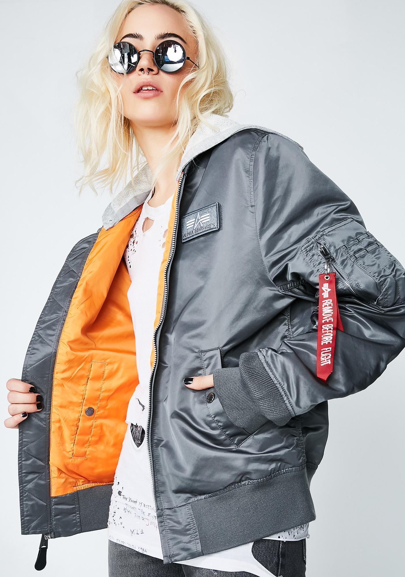 DOLLS KILL☆Alpha Industries ボンバージャケット☆