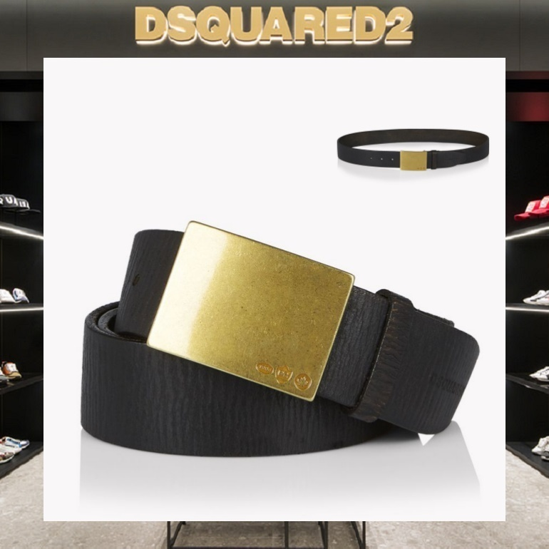 【18SS NEW】D SQUARED2_men/Clasp レザーベルト