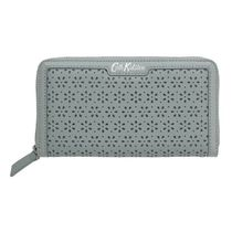 ☆Cath Kidston☆PERFORATED LEATHER CONTINENTAL WALLET☆