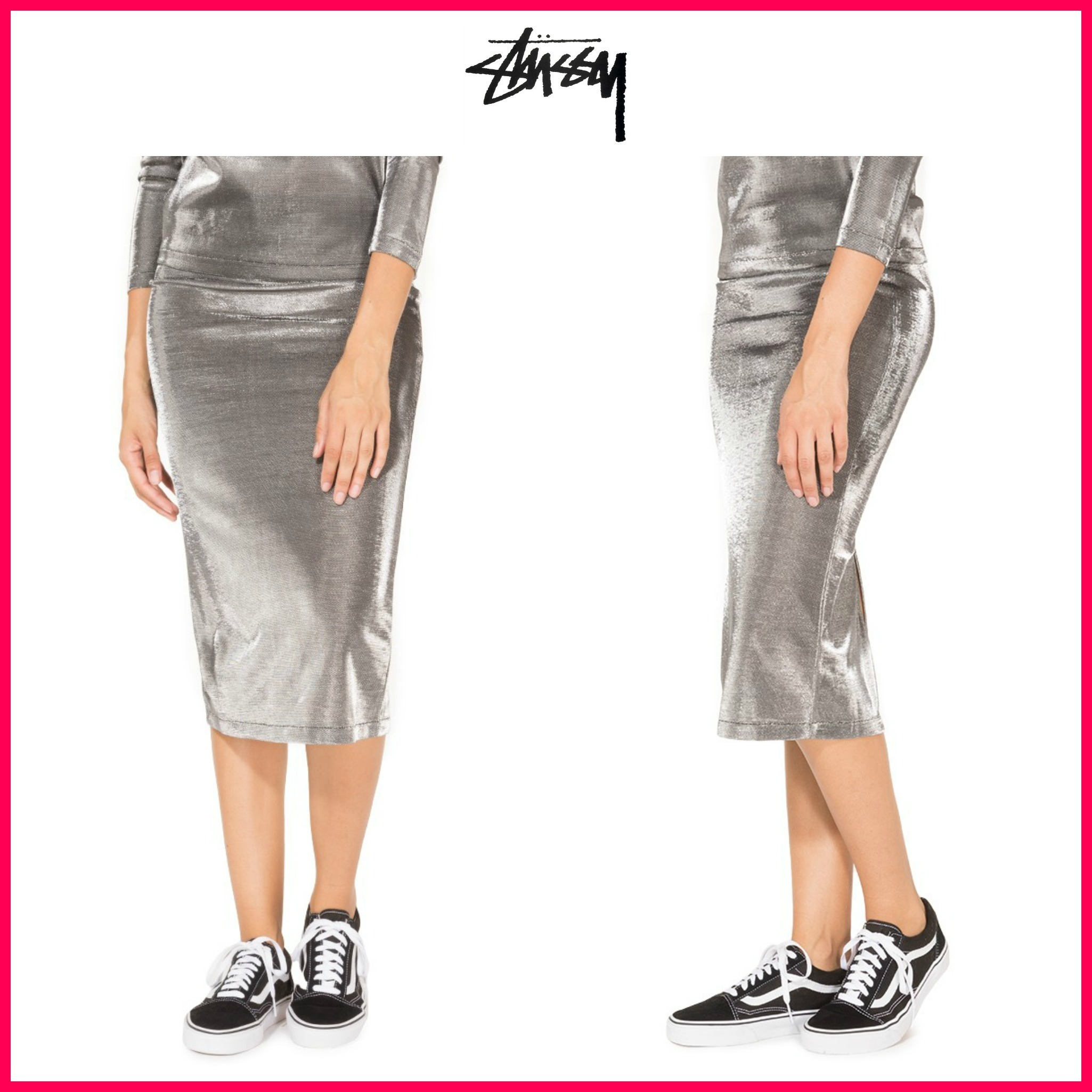 日本未入荷☆新作17FW☆STUSSY*SPIRIT TUBE SKIRT