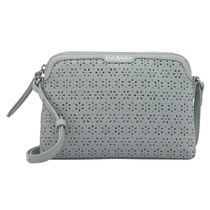 ☆Cath Kidston☆LEATHER PERFORATED CROSS BODY☆
