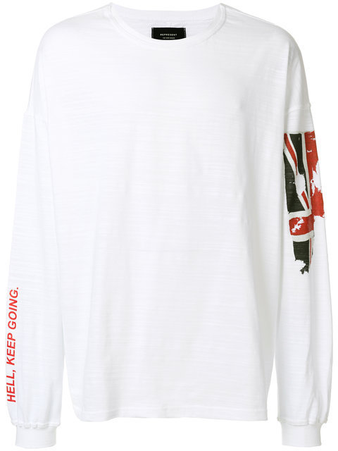 REPRESENT リプレゼント sweat ? imprim? Union Jack トレーナー