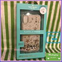 【kate spade】日本未入荷★Stars Silver&Gold Foil★iPhone X★
