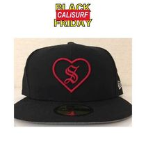SALE★★Supreme(シュプリーム)HEART NEW ERA/BLACK/ 59.6