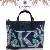 "◇LIBERTY LONDON◇ Mini Marlborough Tote Bag ""K""トートバッグ"