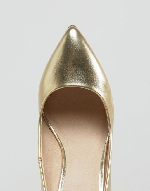 ASOS*新作パンプス*PLAYFUL Wide Fit Pointed Heels*関送無料
