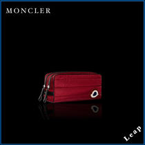 【MONCLER】今季アイテム☆化粧ポーチ BEAUTY CASE レッド▲