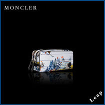 【MONCLER】今季アイテム☆化粧ポーチ BEAUTY CASE 絵画▲