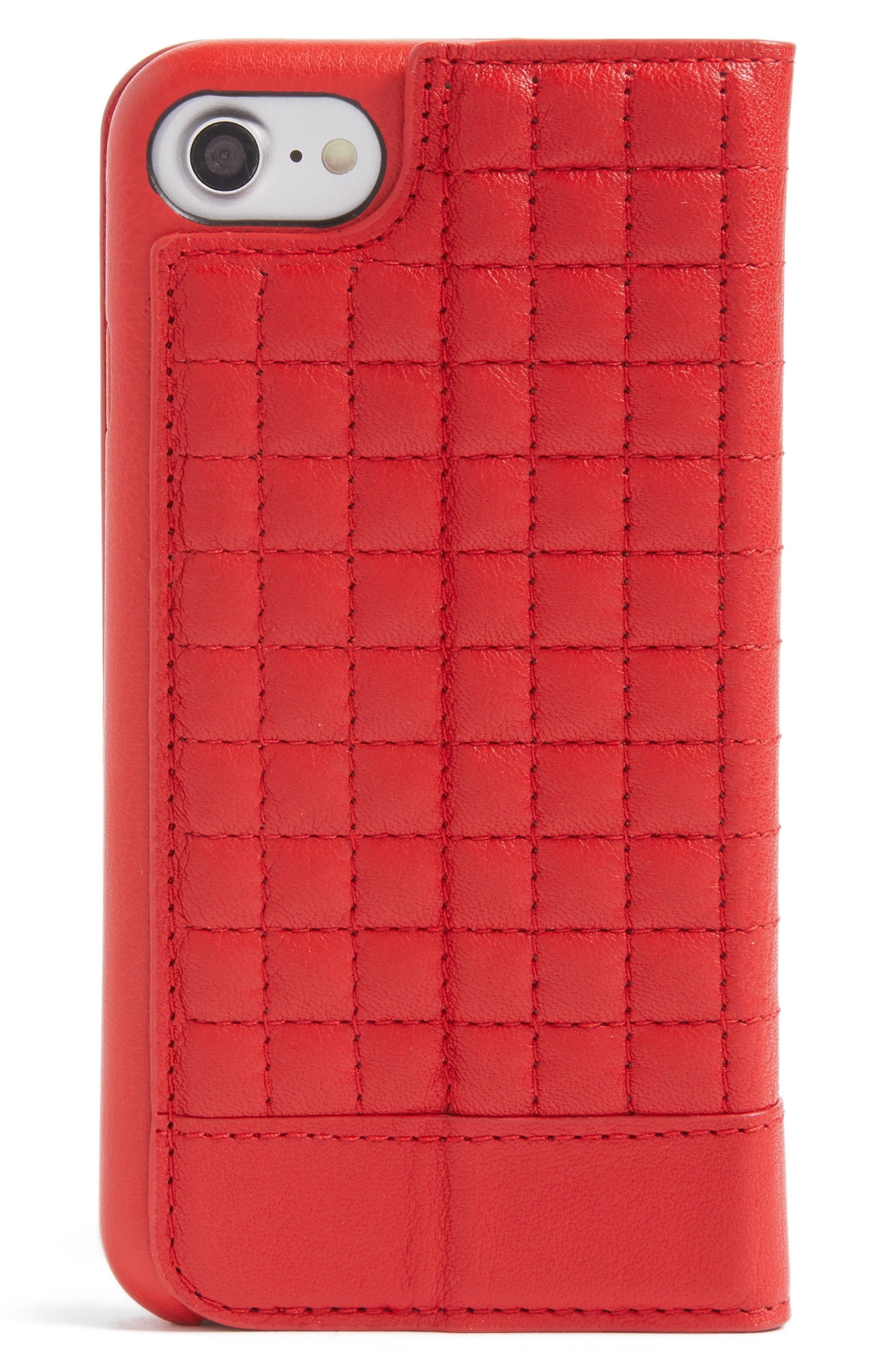 セーナ iPhone 7/8 Quilted Wallet Case iPhone ケース