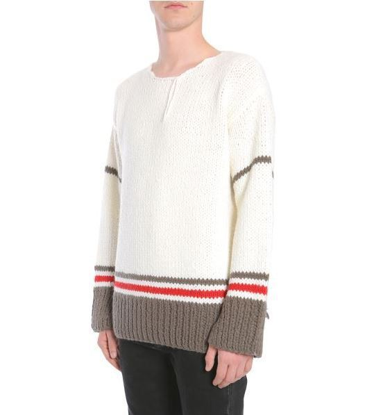 【送料込】要注目★Maison Margiela CROCHET PULLOVER WITH BAND