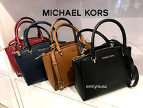 Michael Kors★11月新作★ELLIS SATCHEL 上質な革製