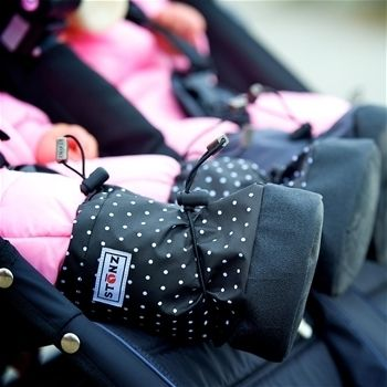 【 Baby Booties & Linerz Sets 】★ Polka Dot B&W