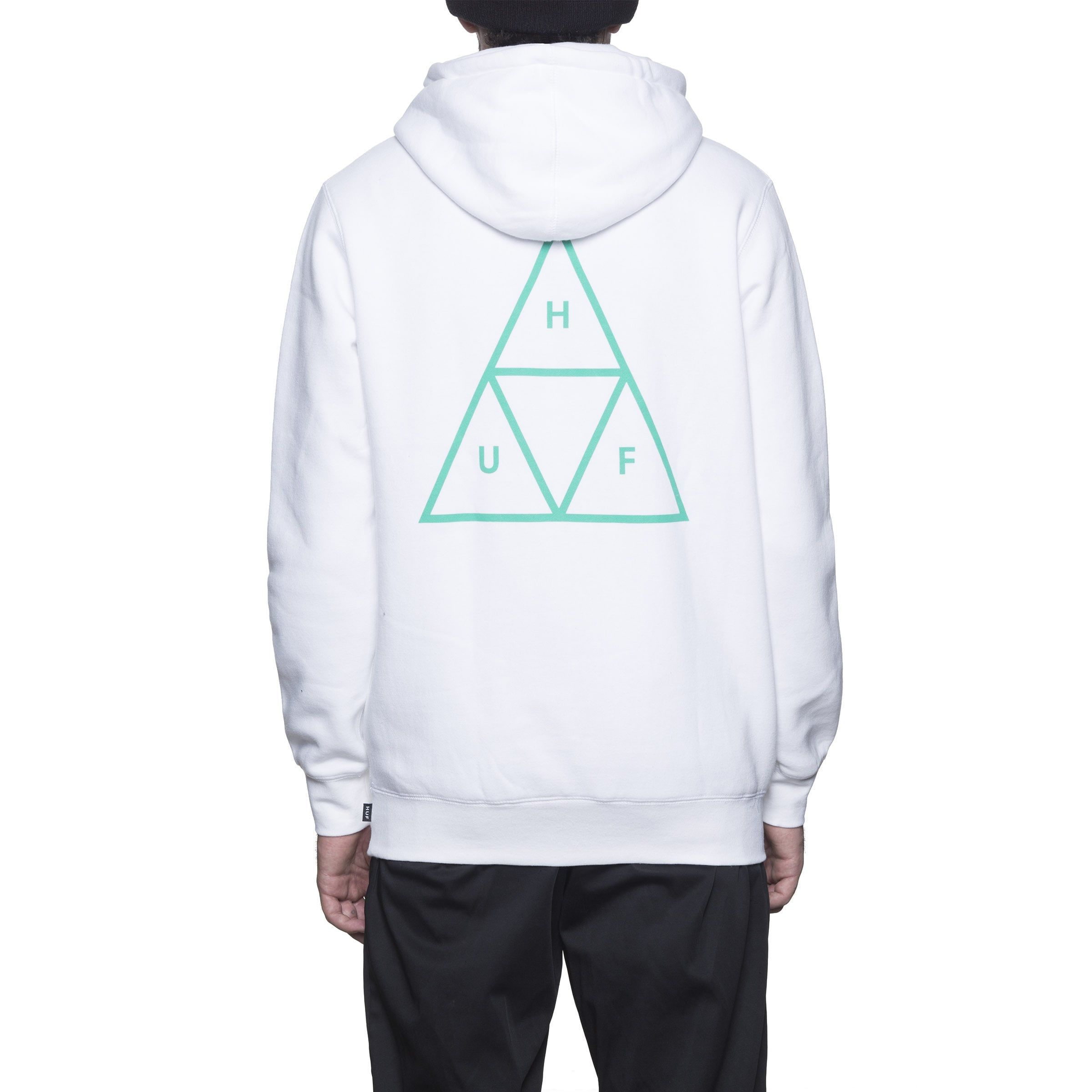 日本未入荷!HUFTRIPLE TRIANGLE PULLOVER HOOD送料込