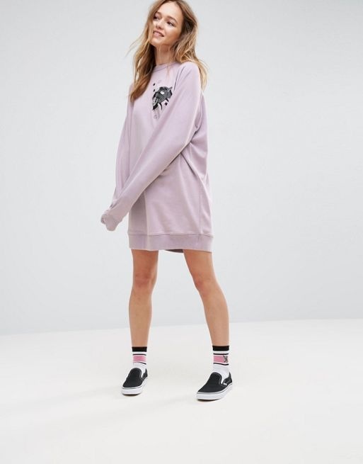 ASOS*新作ワンピース*X LOT STOCK & BARREL Embroidere*関送無料