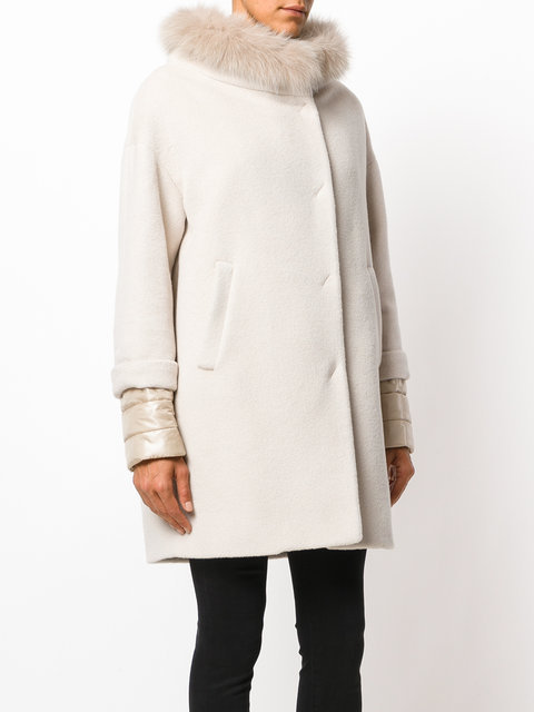 17AW 新作 HERNO(ヘルノ)manteau a col en fou コート ダウン