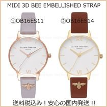 送料税込【Olivia Burton】MIDI 3D BEE EMBELLISHED♪30mm(2種)