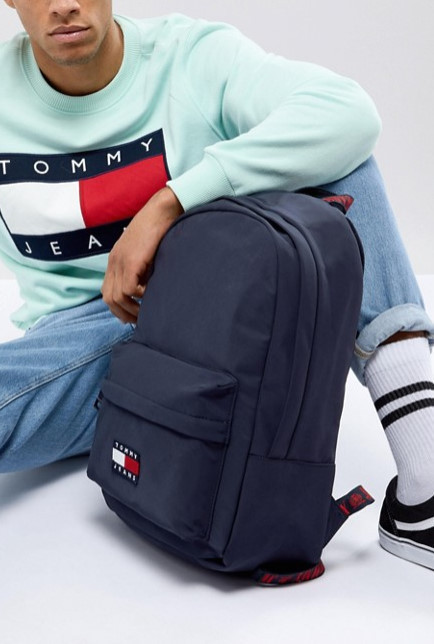 Tommy Jeans トミージーンズ  90'sカプセルロゴ バックパック