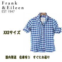 【国内即発XXSサイズ】Frank & Eileen Barry  Navy + blue