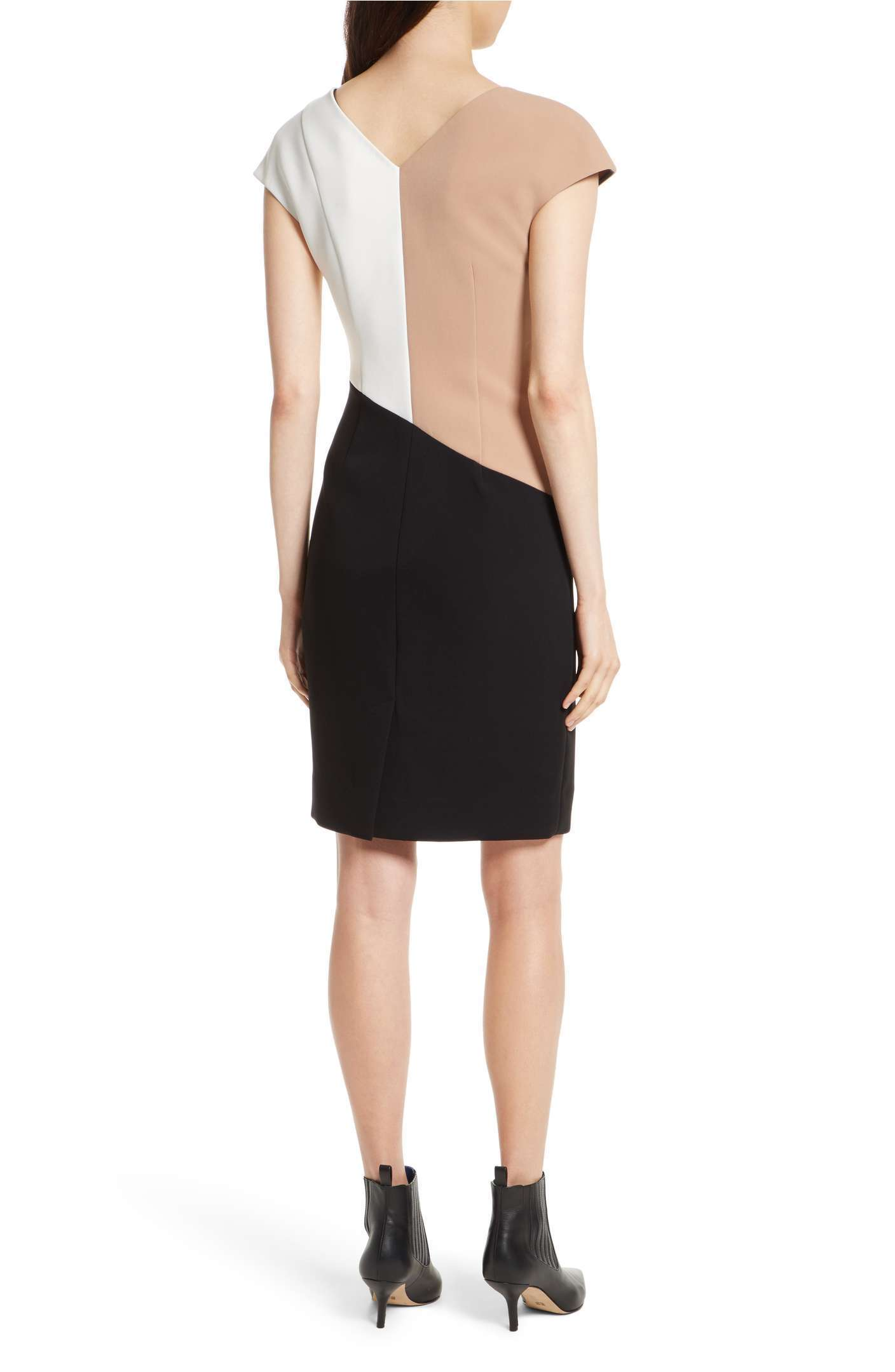 Colorblock Sheath Dress DIANE VON FURSTENBERG