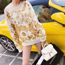 2018CRUISE CHANEL★MAJOR LOOK 67 LONG SLEEVE COTTON SWEATER