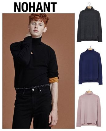 (NOHANT) TURTLENECK SWEATER-SHIRTS (4色・3size・男女・EMS)