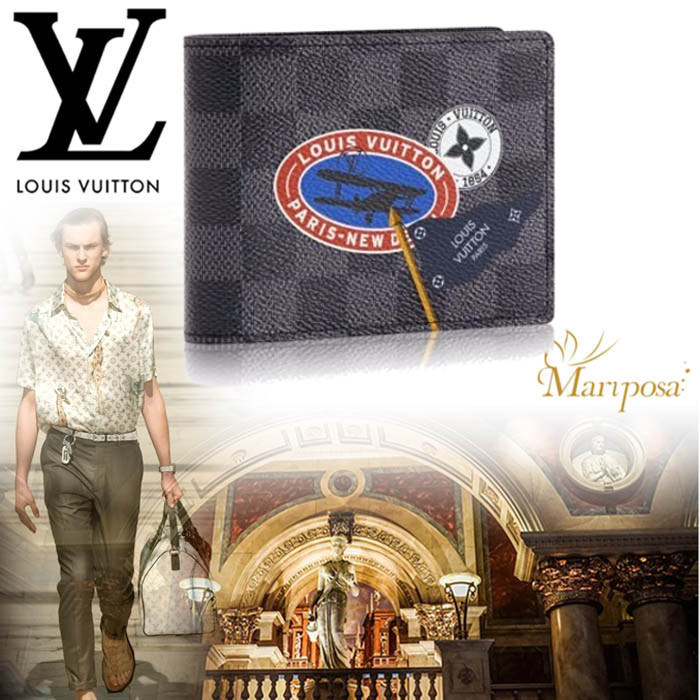 17AW 新作 ルイヴィトン MULTIPLE WALLET  財布