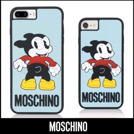 MOSCHINO☆18SS新作☆Bimbo♪ iPhone6/6S/7&Plus