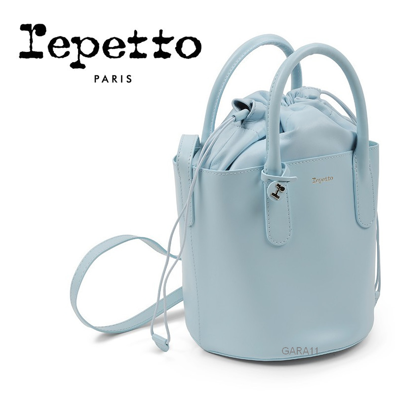 ●Repetto●秋冬新作♪Manege Bucket bag♪Sky Blue