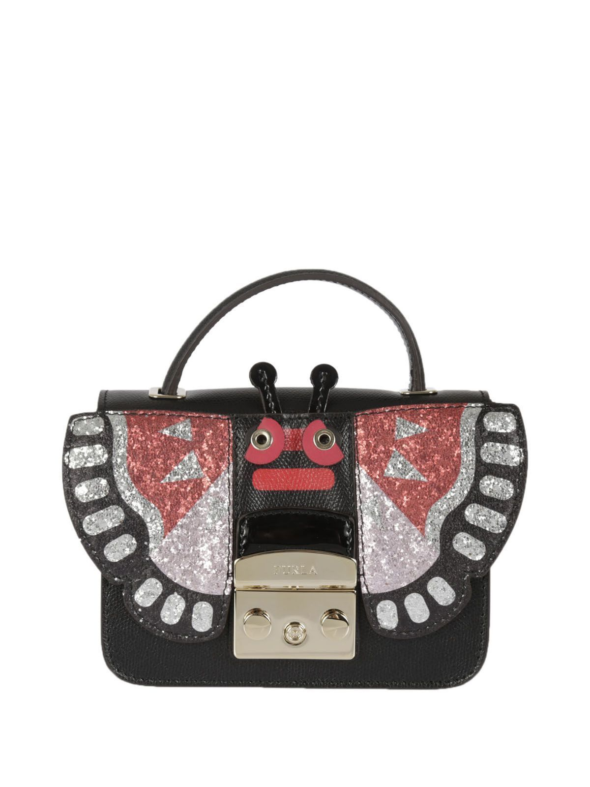 送料込 Furla Metropolis Doodle Top Handle Bag バッグ