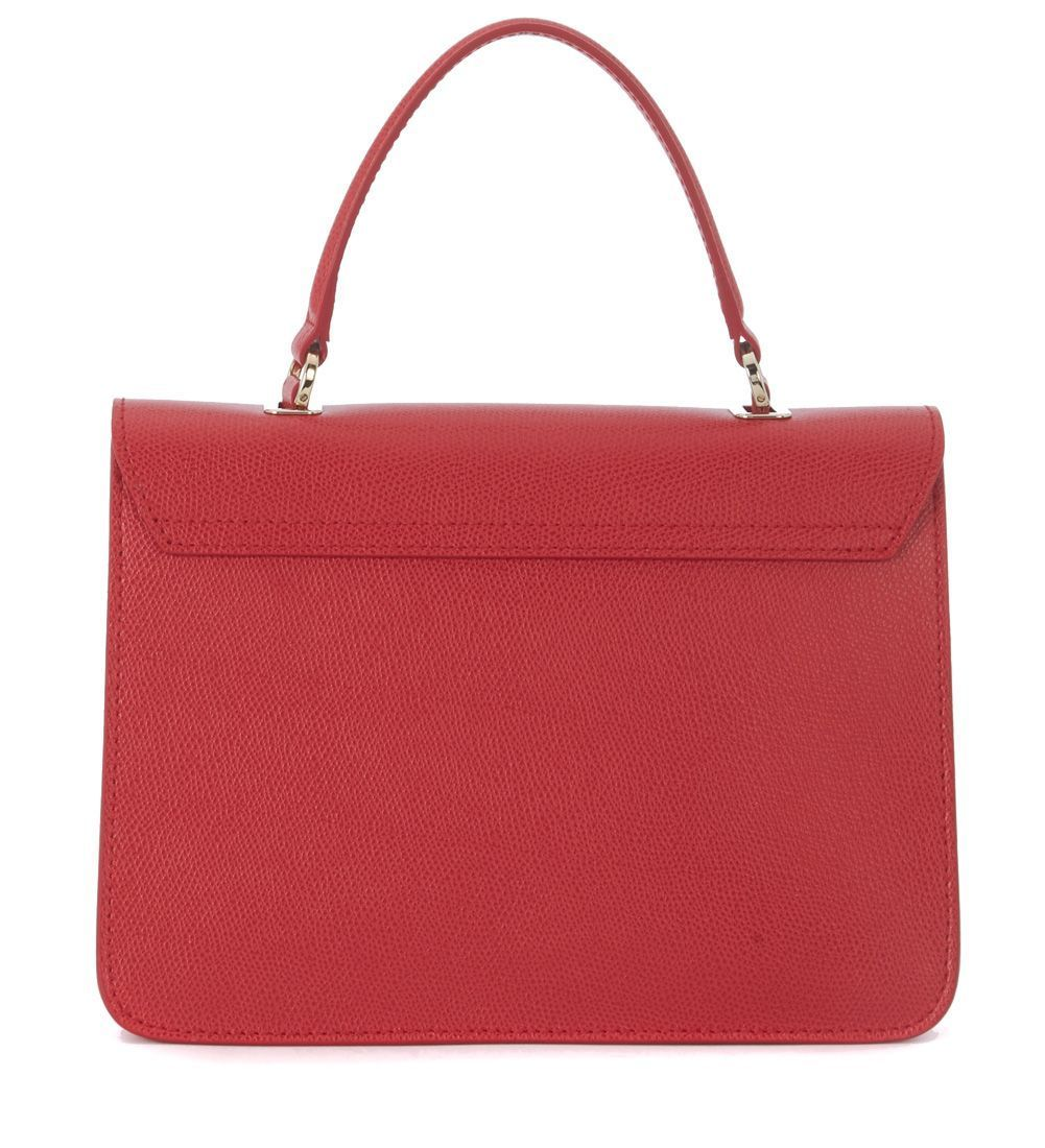 送料込 Furla Metropolis Red Ruby Leather Handbag バッグ