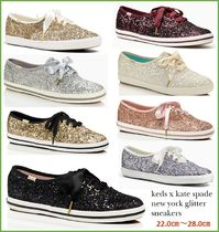 Keds x kate spade コラボ new york glitter sneakers