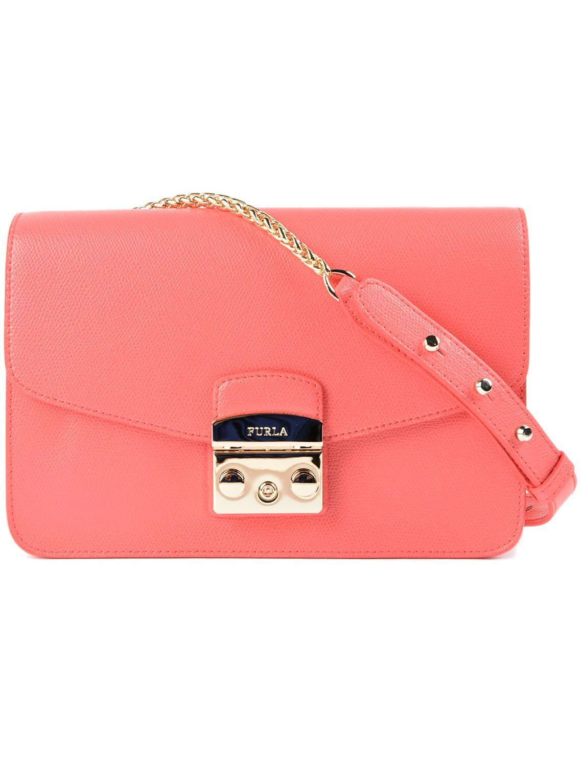 送料込 Furla Metropolis Small Shoulder Bag バッグ