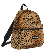 Supreme Leopard Fleece Backpack / Yellow バックパック 豹