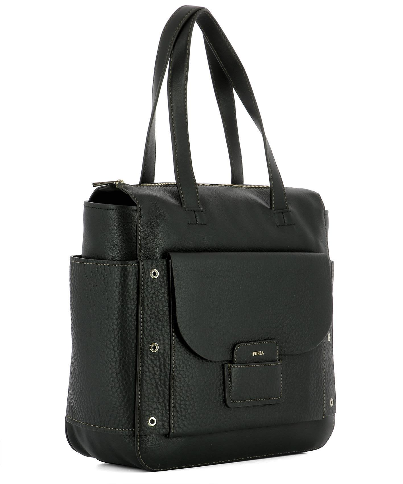 送料込 Black Leather Shoulder Bag バッグ