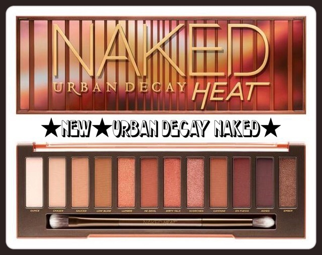 ☆Urban Decay☆ NAKED【HEAT】アイシャドウ12色♪