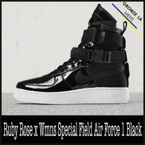 ★【NIKE】追跡発 Ruby Rose x Special Field Air Force 1 Black