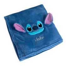 Stitch Fleece Throw - Personalizable