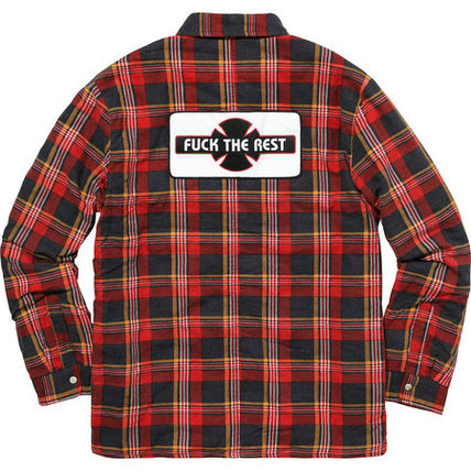13 week FW17 (シュプリーム) X Independent Quilted Flannel