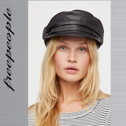Free People フリーピープル Commodore Leather ハット