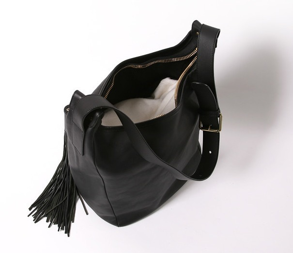 ☆Chloe(クロエ)☆Gaby Tassel Tote Bag - Black
