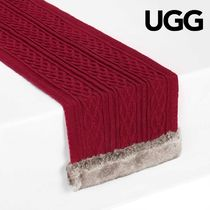 ◇UGG◇ニットのテーブルランナー Cable Knit Table Runner