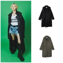 日本未入荷OPEN THE DOORのleather trench coat - UNISEX 全2色