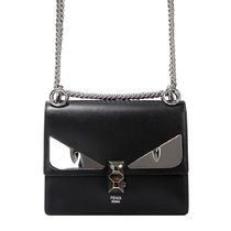 【関税負担】 FENDI MONSTER EYES CHAIN SHOULDER BAG