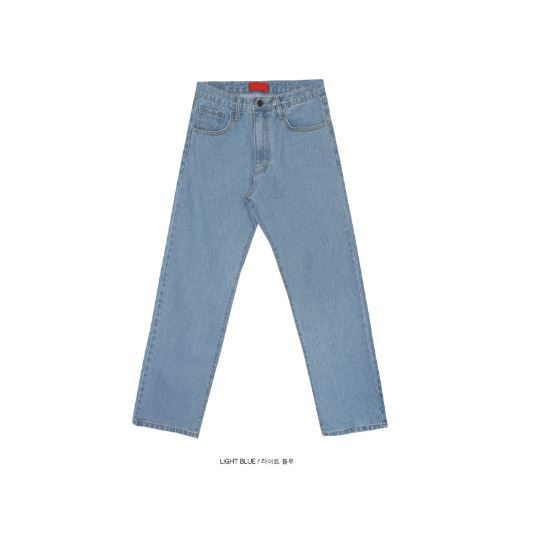 OPEN THE DOORのoriginal straight denim pants - UNISEX 全3色