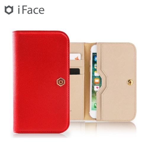 ☆iFace☆ The Feel 牛革ポーチ