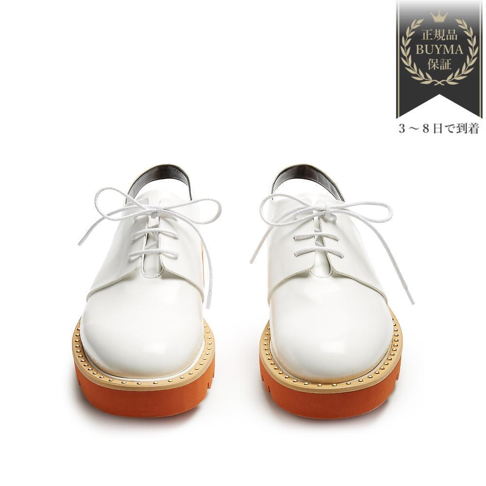 VIPSALE▼Odette レースアップフェイクレザーshoes