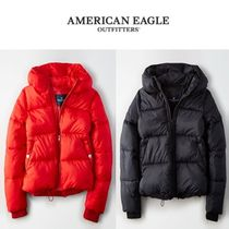 American Eagle Outfitters(アメリカンイーグル) ダウンジャケット・コート [American Eagle Outfitters] 2329 Boxy short puffer 2色