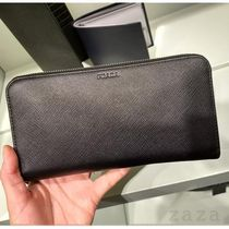 PRADA VIPセール★ Zip around walletネイビー